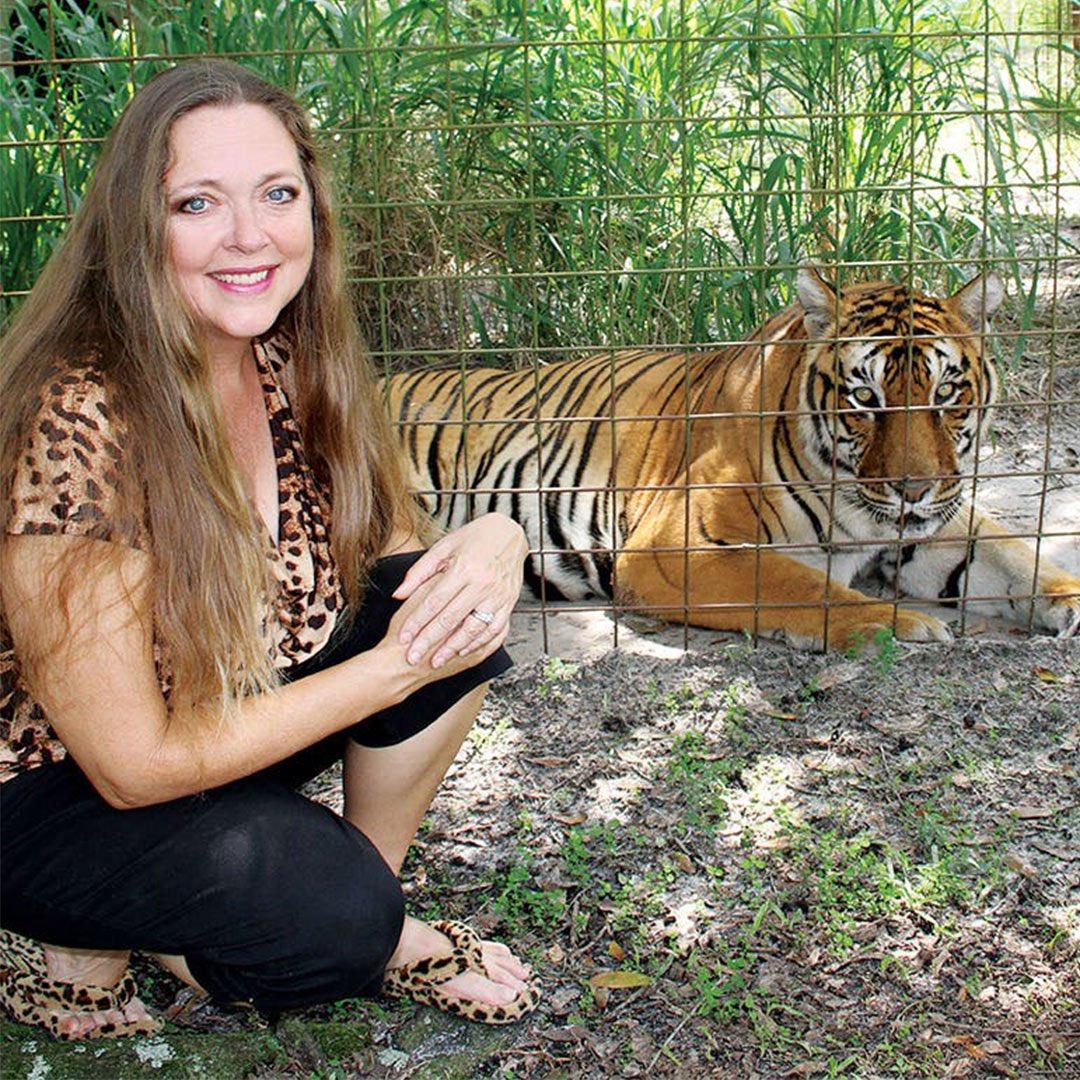 Carole Baskin serie tiger king