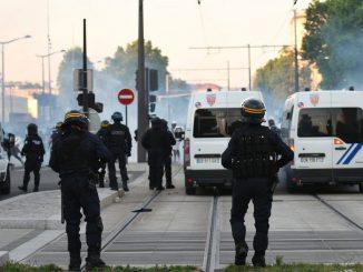 Affrontements Paris violences policières