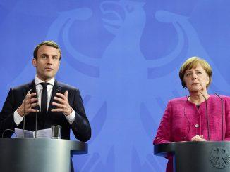 coronavius Macron Merkel