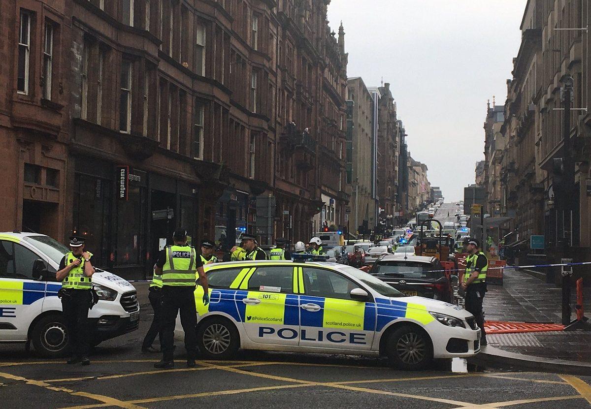 Glasgow, coups de couteau massif dans le centre-ville