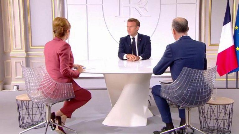 Macron relance économique