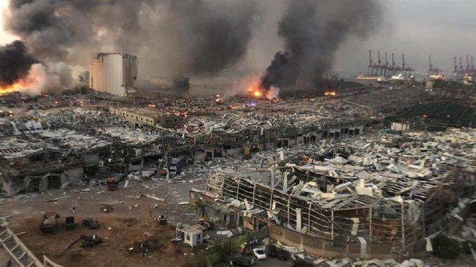 Explosions à Beyrouth : les aides internationales au Liban
