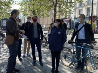 Paris, Anne Hidalgo et le port obligatoire du masque pour cyclistes