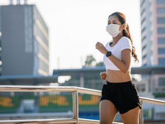 Sport avec un masque