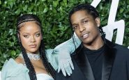 Rihanna couple A$AP Rocky.