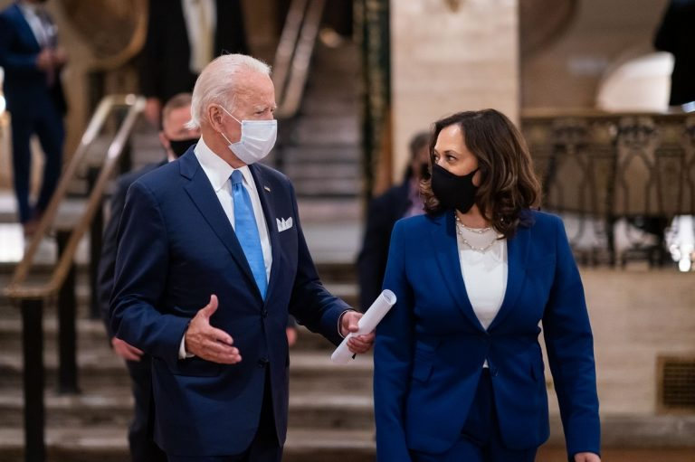 Time joe biden kamala harris