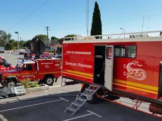 violent incendie port de Saint-Aygulf à Fréjus