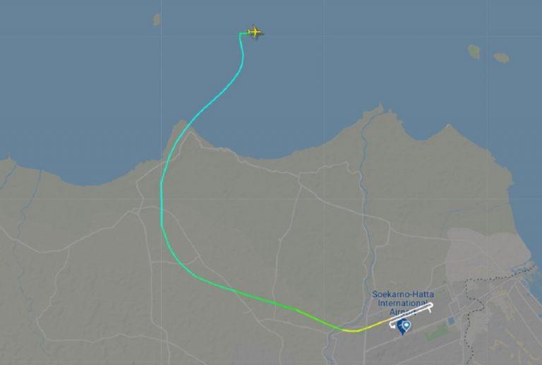 IndonésieBoeing 737 plonge
