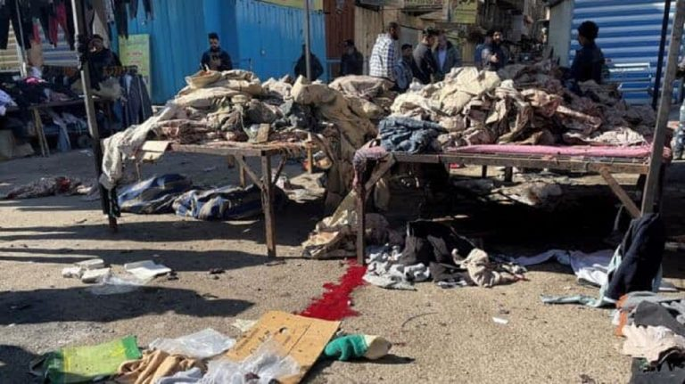 Irak kamikaze Bagdad