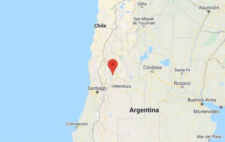 Tremblement de terre en Argentine