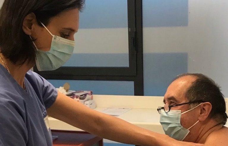 Début de la vaccination des plus de 75 ans ne résidant pas en Ehpad