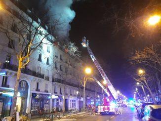 Paris : deux morts dans l'incendie d'un immeuble