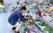 Assassinat d'une policière: les hommages de la nation