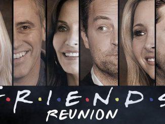 Terminer le tournage de Friends