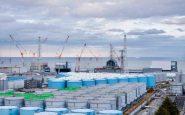 Eau de Fukushima dans la mer