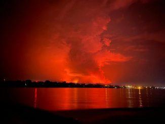 Éruption volcanique du Nyiragongo