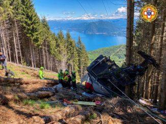 Accident de téléphérique à Stresa