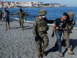 Ceuta, 8 000 migrants arrivent en Espagne en provenance du Maroc : Sanchez déploie l'armée