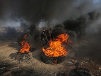 Bombardement israélien de la bande de Gaza en réponse à une nouvelle attaque