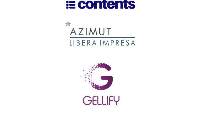 GELLIFY et Azimut Digitech Fund nouveaux investisseurs de Contents