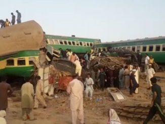 Accident de train au Pakistan, au moins 30 morts : des blessés coincés dans les wagons