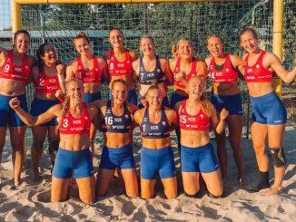 L'équipe féminine de norvège de beach handle a subi une amende