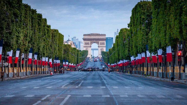 La fête nationale française le 14 juillet 2021