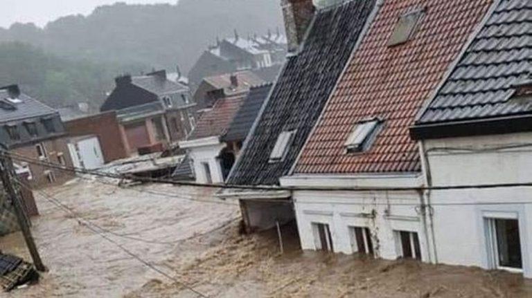 L'inondation terrifiante de l'Allemagne