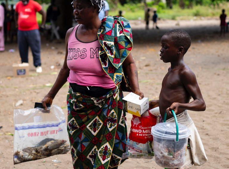 Conditions de famine