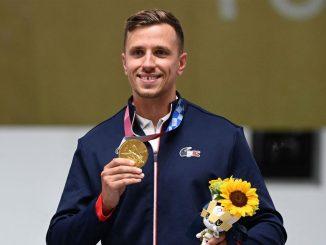Jean Quiquampoix champion au Jeux de Tokyo