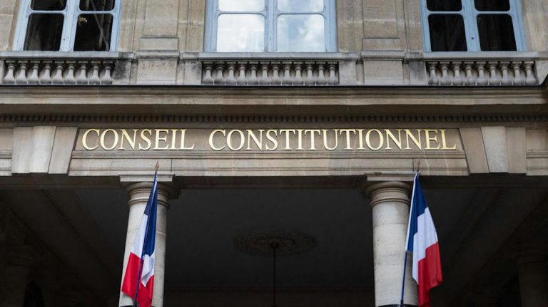Le conseil constitutionnel en France