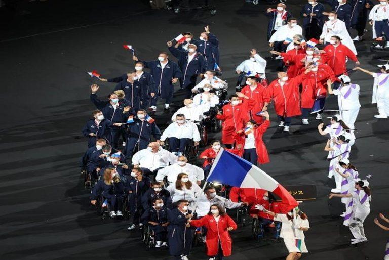 Une délégation française prête à entrer dans compétition