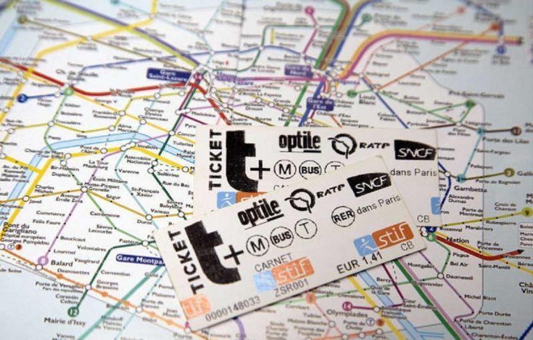 Au revoir les tickets de métro parisien