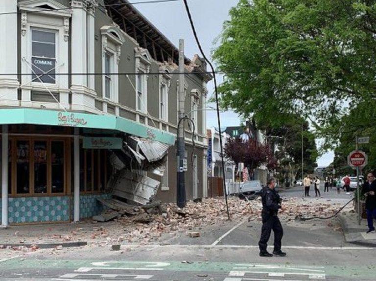 Tremblement de terre en Australie : peur à Melbourne