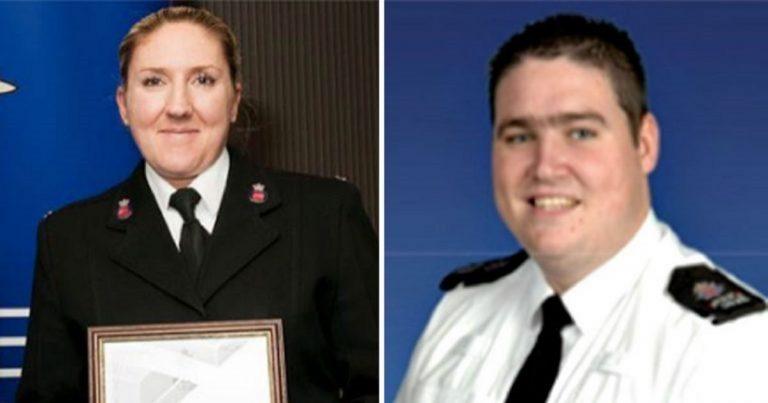 Deux policiers, amants ont des relations dans le volant et ignorent les appels d'urgence : licenciés