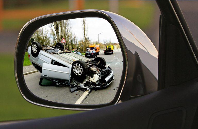 Quatre piétons percuté dans un accident de voiture
