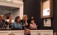Montant record pour la vente de la Fille au ballon de Banksy