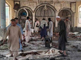 Attaque contre une mosquée dans la province de Kunduz, un kamikaze tue 100 personnes