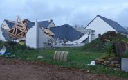 Tempête Aurore : 250 000 foyers sans électricité, de nombreux dégâts