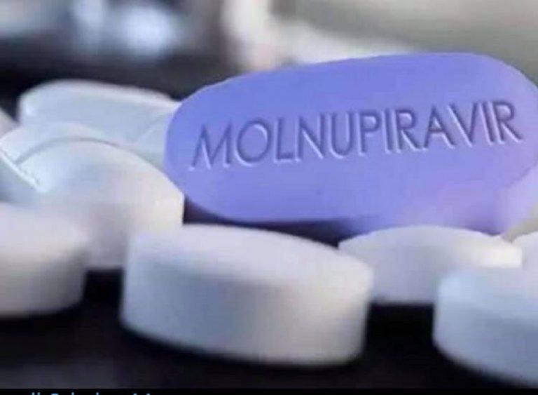 Pilule anti-Covid Molnupiravir, dont l'utilisation est approuvée par la FDA américaine
