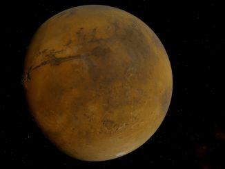 Un ancien lac découvert sur le sol de Mars