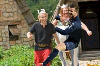 Beckham, Asterix et Obelix