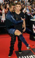 David Beckham et Justin Bieber