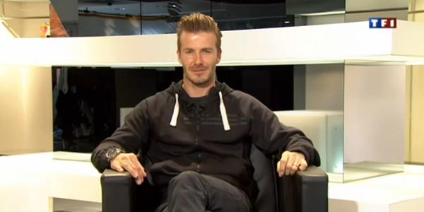 David Beckham sur TF1