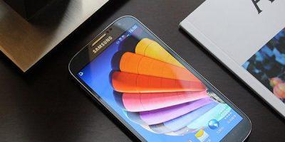 Le Galaxy S4 de la société Samsung